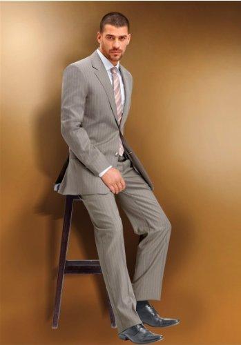 Anzug im Nadelstreifendessin von Studio Coletti in Beige Beige