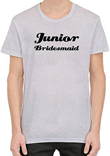 Junior Bridesmaid Funny Slogan T-Shirt per Uomini XX-Large