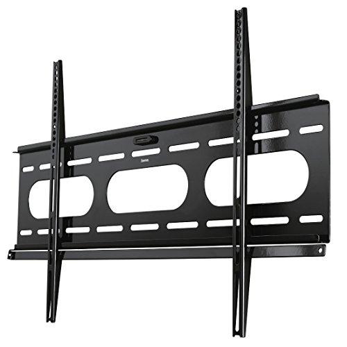 Hama TV-Wandhalterung Ultraslim, für 94-229 cm Diagonale (37-90 Zoll), für max. 75 kg, VESA bis 800 x 500, Wandabstand 25mm, schwarz