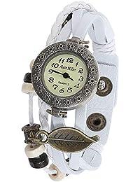 Alain Miller Reloj Analógico para Mujer de Cuarzo con Correa en Cuero 1900134-001