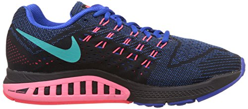 Nike Zoom Structure 18, Scarpe sportive, Uomo Hypr Cblt/Hypr Pnch-Blk-Hyp