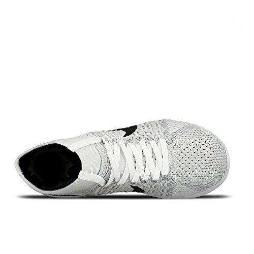 Nike Damen Wmns Lunarepic Flyknit Laufschuhe Blanco (White / Black-Wolf Grey-Pr Pltnm)