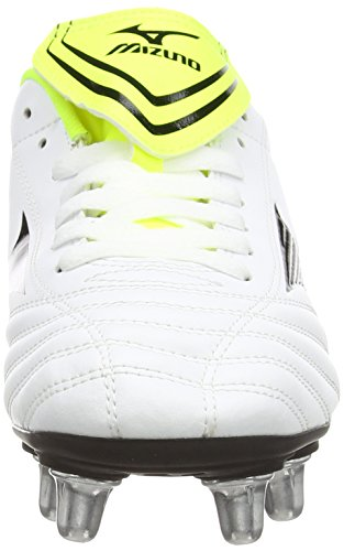 Mizuno - Fortuna Rugby Sp, Scarpe Rugby da uomo bianco (white/black/yellow)