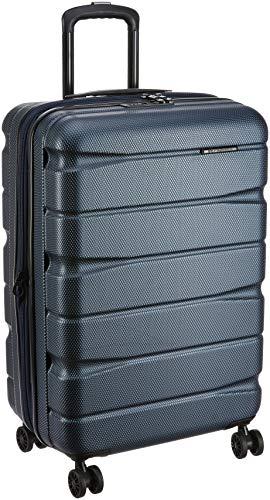 Teakwood ABS 28 cms Dark Blue Hardsided Check-in Luggage (TR_ABS_13_Dark_Blue_M)