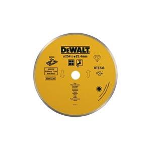 41PSw1v SDL. SS300  - DeWalt DT3733-XJ DT3733-XJ-Disco de Diamante para Corte en húmedo 250x25.4mm-Azulejos de cerámica, 254x25.4mm