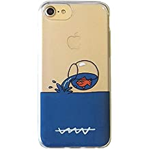 Callate la Boca CBCAR009 - Carcasa Funda para Apple iPhone 7, pecera