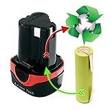 Zellentausch Refresh Flex ALI 10,8 V mit 50 % höherer Kapazität von 2,9 Ah statt 1,3Ah 336.319