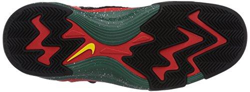 Nike Lunar Raid, Chaussures de basketball homme Noir (Chllng Rd/Chllng Rd-Blck-Tr Yl)