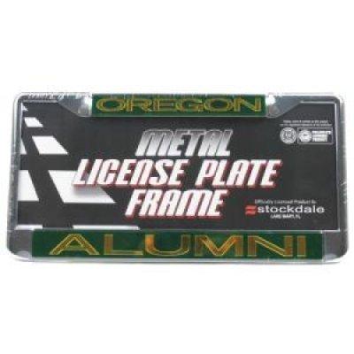 Oregon Ducks Metal Alumni Inlaid Acrylic License Plate Frame by Stockdale