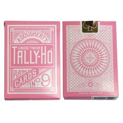 bicycle-cartes-a-jouer-tally-ho-reverse-circle-back-rose-pink-playing-cards
