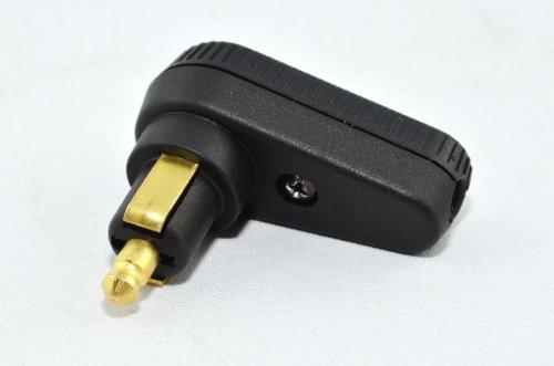 Preisvergleich Produktbild BAASÂ Baas DIN–Winkelsteckverbinder BA12Stromkapazität maximal 8A, passend für normale Steckdosen