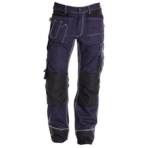 Jobman Handwerker Hose, 1 Stück, D100, marine blau/schwarz, 2200136799-D100