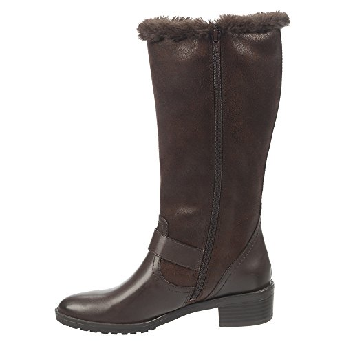 Naturalizer Maddox Femmes Large Synthétique Botte Ox Brown