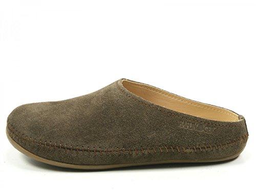 Haflinger 488023-0 Everest Softino Pantofole Unisex - Adulto Braun