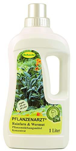 PFLANZENARZT® Rainfarn & Wermut Konzentrat | Pflanzenstärkungsmittel zum Gießen und Sprühen | für schädlingsanfällige Pflanzen | 1 Liter -