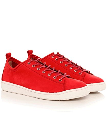 PS by Paul Smith Hommes Cuir Miyata formateurs Rouge Rouge