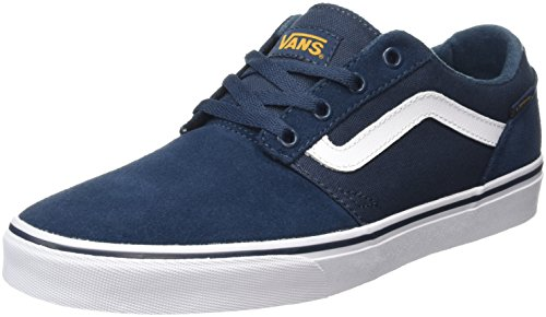 vans-chapman-stripe-zapatillas-para-hombre-azul-varsity-navy-gold-43-eu