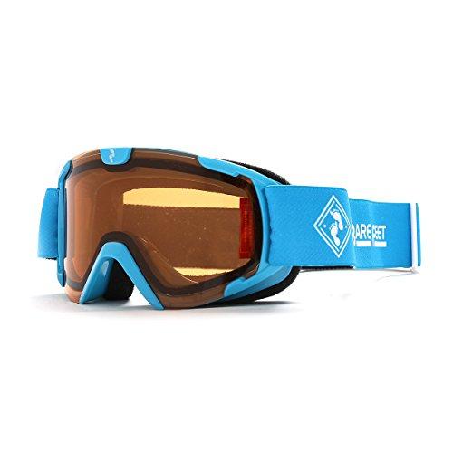 Two Bare Feet Nitro Junior Ski Schneebrille, Kinder, Blue/Orange