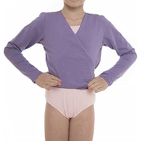 Capezio giacca maglia Scaldacuore danza CAD850da donna per il balletto,