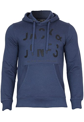 Jack & Jones Sweatshirt Break Sweat Hood Dress Blue