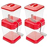 CLOUDSELL 2 Pack Of Vegetable Chopper Onion & Vegetable Chopper Chilly Cutter Chopper.