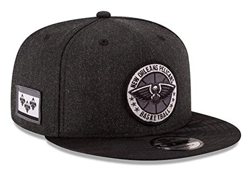A NEW ERA Gorras Orleans Pelicans Tipoff Series 9Fifty Heather Black Snapback