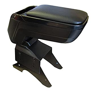 XtremeAuto Universal Armrest Center Console Soft Leather Adjustable Top - Strong And Durable (Large)