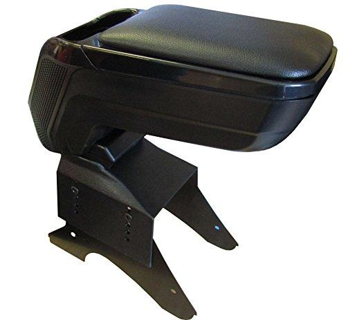 XtremeAuto Bracciolo per console centrale, in pelle morbida, regolabile, resistente e durevole