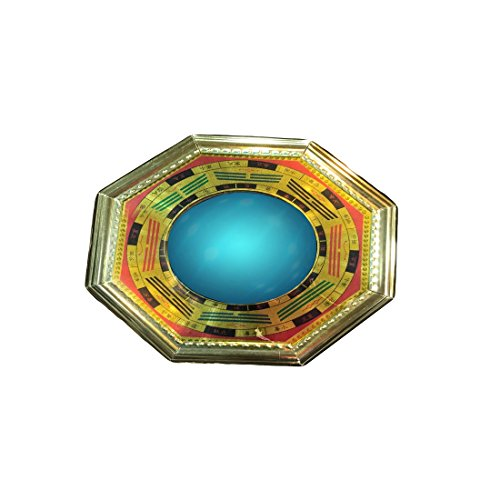 Ryme Vastu/Feng Shui Pakua/Bagua Specchio Convesso 15,2 cm Standard Multi