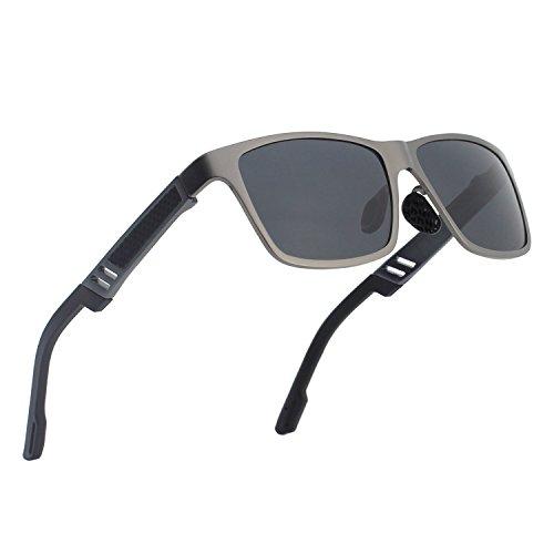 lunettes de soleil Polarized UV400 Sports Lunettes de soleil pour Outdoor Sports Driving Pêche Running Skiing Escalade Randonnée Convient pour les hommes et les femmes Vente bon marché (TJ-050) (A) cc2Ork0s
