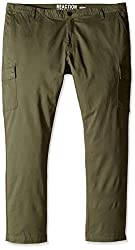 Kenneth Cole REACTION Mens Lt Wt Twill Cargo, Caper, 32x30