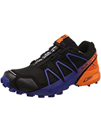 Salomon L40177400 Speedcross 4 Limited Edition Synthetic Trail Running Shoes, Adult (Black)