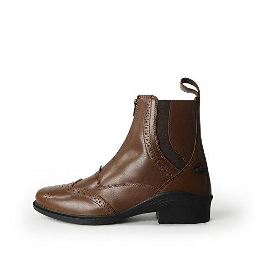 Brogini Stivali Bassi da Equitazione Modello Epsom in Pelle - Adulti/Unisex Nero