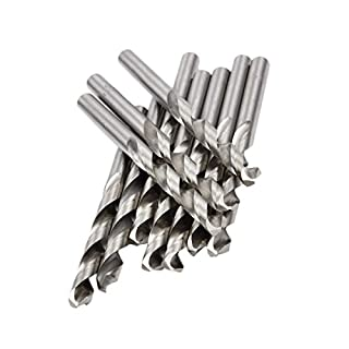 10 Metall Spiralbohrer HSS 5.0 mm Plexiglas Grundierung Drehung Plastik