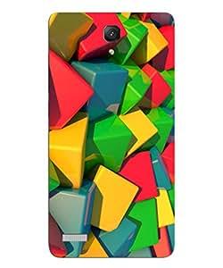FurnishFantasy Designer Back Case Cover for Xiaomi Redmi Note Prime