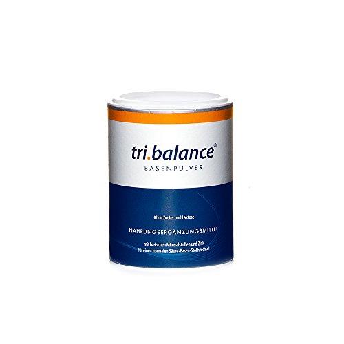 tri.balance Basenpulver 220g - Hochwertige Mineralstoffe aus Carbonate und Citrate für eine optimale Säure-Basen-Balance