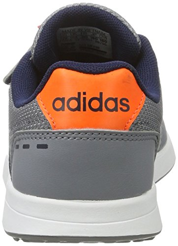 adidas Unisex-Kinder Vs Switch 2.0 Cmf C Sneakers Blau (Grey/conavy/sorang)