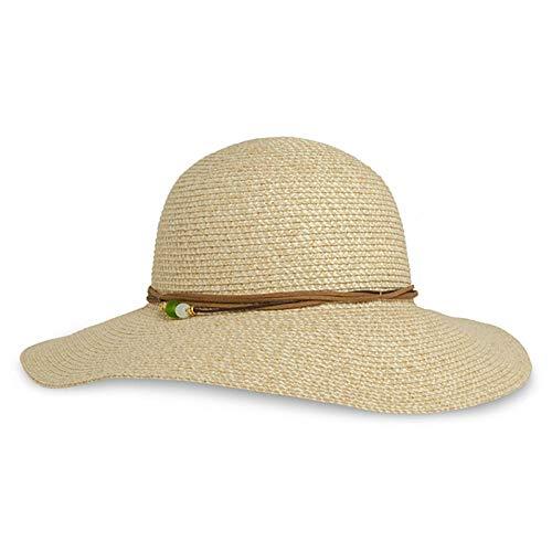 Sun Hatsun Hut Sonnencreme Lady Outdoor Big Leisure Beach Sonnenhut @ One Size_Cream Farbe -