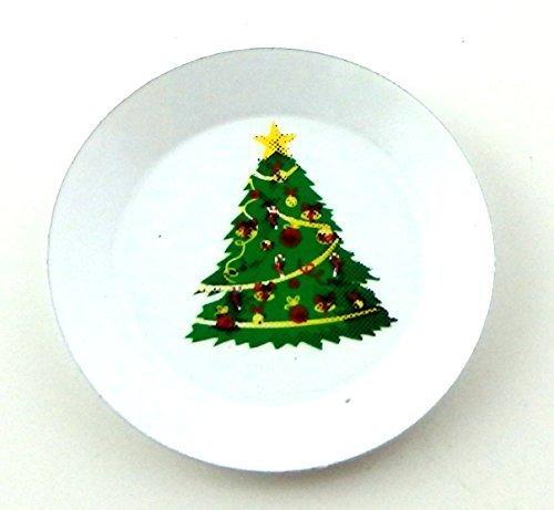 Melody Jane Puppenhaus Weihnachtsbaum Platte Miniatur KÜCHE ESSZIMMERTISCH Zubehör