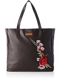 Kanvas Katha Women's Tote Bag (Dark Grey)