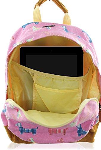 Kukubird Multi-Design 1 einzelne Tasche Rucksack - ELEPHANT MINT GREEN POOD BEIGE