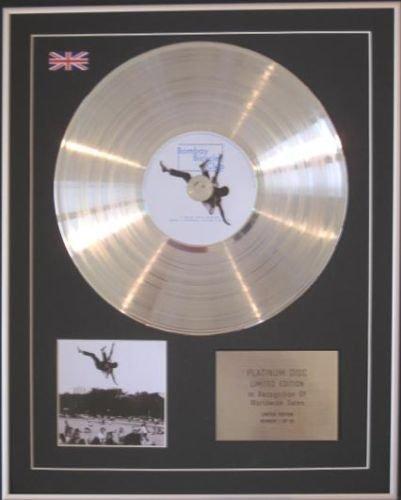 Bombay Bicycle club-cd Platinum disc- Ich hatte den Blues - Platinum Club