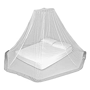 41PT8nM%2BUVL. SS300  - Lifesystems Unisex's BellNet King Mosquito Net, White, One Size