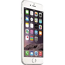 "Apple iPhone 6 Plus - Smartphone libre iOS (pantalla 5.5"", cámara 8 Mp, 16 GB, Dual-Core 1.4 GHz, 1 GB RAM), Plata (Reacondicionado Certificado)"