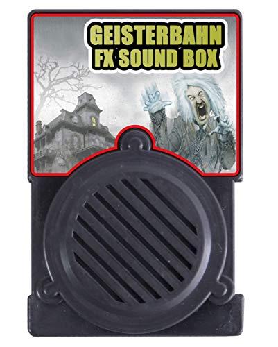 Horror-Shop Geisterbahn Sound FX Box für Halloween