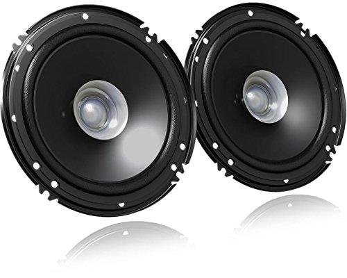 JVC CS-J610X - 16cm Lautsprecher - Auto 160mm Boxen Set, 300Watt KFZ PKW - PAARPREIS DualCone Speaker System 4ohm