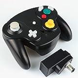 Exlene® Wireless Controller Gamepad für Nintendo Gamecube (schwarz)