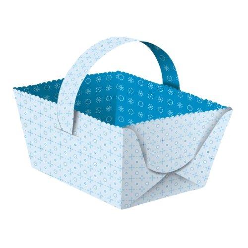 Oster Geschenkkörbchen Joline blau, 5 Stk. - Henkelkörbchen