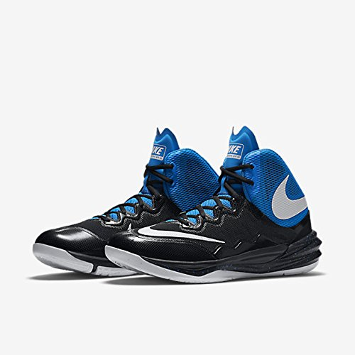 Nike Prime Hype DF II, Chaussures de Sport-Basketball Homme, Taille Multicolore - Negro / Blanco / Azul (Black/White-Photo Blue-Bl Lgn)