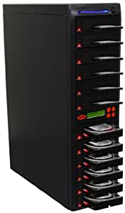 """Systor 1 to 11 SATA 2.5""""&3.5"""" Dual Port/Hot Swap Hard Disk Drive (HDD/SSD) Duplicator/Sanitizer"""